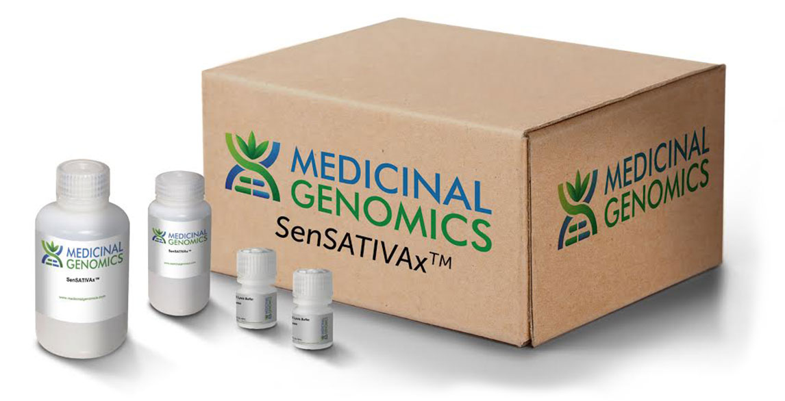 SenSATIVAx® Flower / Leaf DNA Extraction Kit (200 rxn)